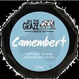 Photo of All The Graze Camembert 200g