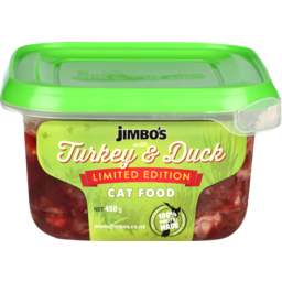 Photo of Jimbo's Limited Edition Cat Food With Turkey And Duck 450g