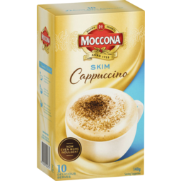 Photo of Moccona Skim Cappuccino 10 Pack