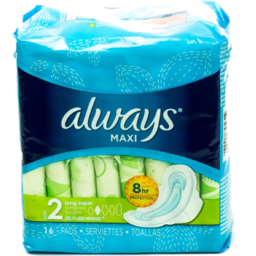 Photo of Always Maxi Pads Long Super