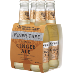 Photo of Fever Tree Fever-Tree Ginger Ale 4pk 200ml