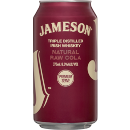 Photo of Jameson Raw & Cola Can
