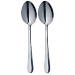 Photo of Smartchef Dessert Spoon Set 2 Stainless Steel