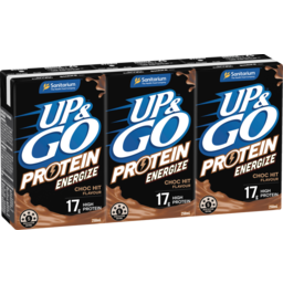 Photo of Up&Go Protein Energize Choc Hit 3x250ml