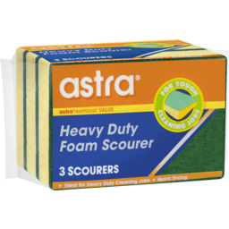 Photo of Astra Scourer Scrub Heavy Duty 3 Pack