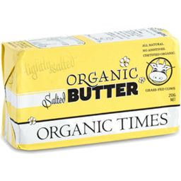 Photo of Organic Times Salted Butter