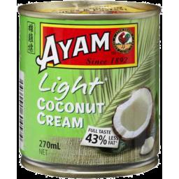 Photo of Ayam Light Coconut Cream (270ml)