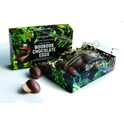 Photo of LOVING EARTH Boobook Chocolate Caramel Eggs 95g