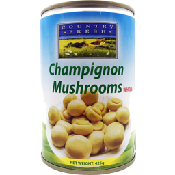 Photo of Country Fresh Champignon Whole 425g