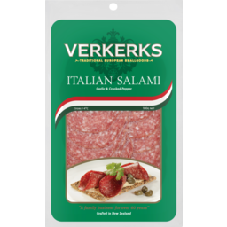 Photo of Verkerks Italian Salami Sliced 100g