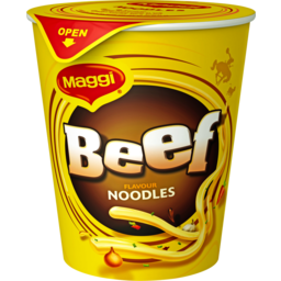 Photo of Maggi 2-Minute Noodles Beef Cup 58g 58g