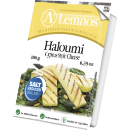 Photo of Lemnos Haloumi Cyprus Style Cheese 180g. Salt Reduced