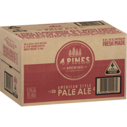 Photo of 4 Pines Brew Pale Ale 24*330ml