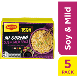 Photo of Maggi Fusian Soy Mild Spice 5 Pack