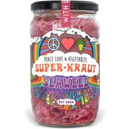 Photo of Peace Love & Veg Seaweed Superkraut