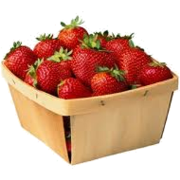 Photo of Berries Strawberries Organic Punnet