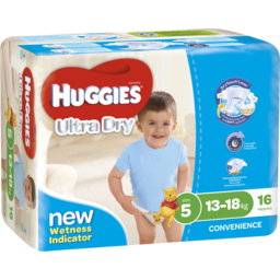 Photo of Huggies Ult/Dry Walker Boy 16s