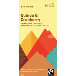 Photo of Pico Choc Quinoa&Cranbry 80gm