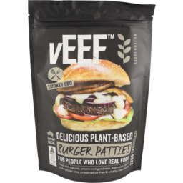 Photo of Veef - Plant Based Burger Patties - 226g