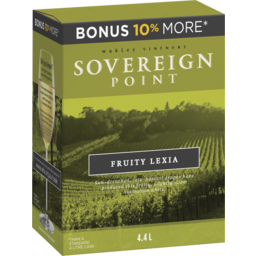 Photo of Sovereign Point Fruity Lexia