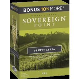 Photo of Sovereign Point Fruity Lexia