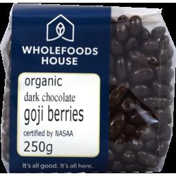 Photo of Wholefoods House Chocolate Goji Berries Dark 250g