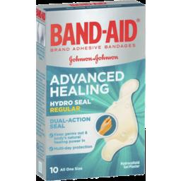 Photo of Bandaid Adv Healing Reg 10s