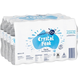 Photo of Community Co Crystal Peak Spring Water 24x600ml