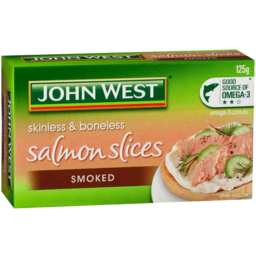 Photo of John West Salmon Slices Smoked 125gm