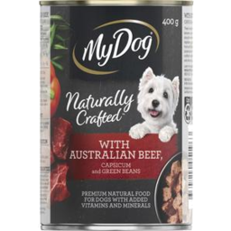 Photo of My Dog Beef Capsicum & Green Beans 400g