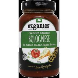 Photo of Ozganics Bolognese Pasta Sauce 500gm