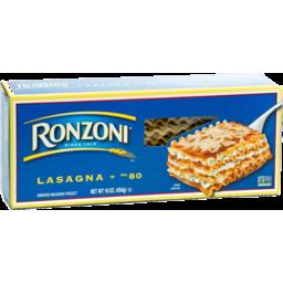 Photo of Ronzoni Enriched Macaroni Product Lasagna