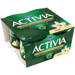 Photo of Activia Vanilla 4 X 125gm
