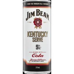 Photo of Jim Beam Kentucky Serve Can