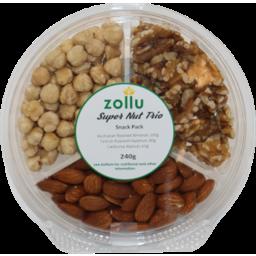 Photo of Zollu Super Nut Trio Mix 240g