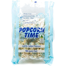 Photo of Popcorn Time Salted 10pk