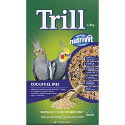 Photo of Trill Dry Bird Seed Cockatiel Mix 1.8kg Box