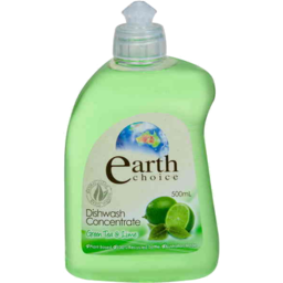 Photo of Earth Choice Dishwashing Concentrate Green Tea & Lime 500ml