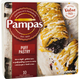 Photo of Pampas Frozen Puff Pastry 10 Sheets 1.6kg
