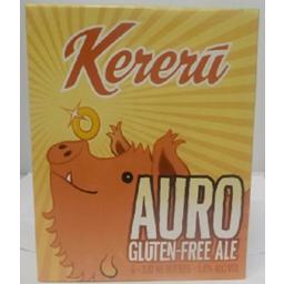 Photo of Kereru Auro Golden Ale Gluten Free 6pk