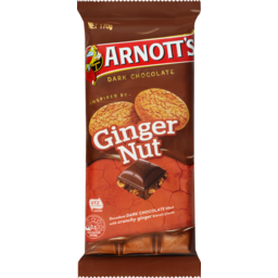 Photo of Arnott's Chocolate Block Ginger Nut 170g