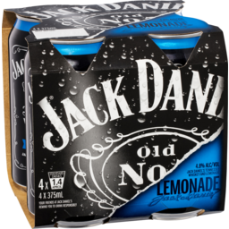 Photo of Jack Daniel's Tennessee Whiskey & Lemonade Cans