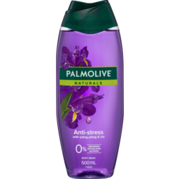 Photo of Palmolive Naturals Anti-Stress Body Wash With Ylang Ylang & Iris 0% Parabens Recyclable 500ml