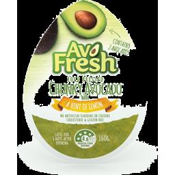 Photo of Avofresh Chunky Avocado Hint Of Lemon 160gm