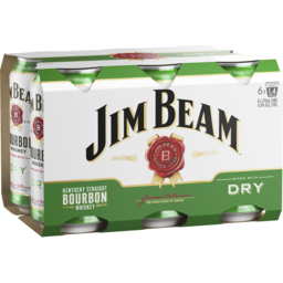 Photo of Jim Beam White Label & Dry Cans