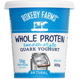 Photo of Rokeby Farms Quark Yoghurt Natural 500gm