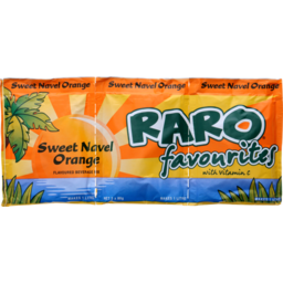 Photo of Raro Sachets Drink Mix Sweet Navel Orange 3 Pack
