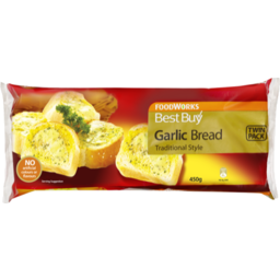 Photo of Best Buy Bread Garlic Twin Pack 450g
