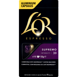 Photo of L'or  Supremo Capsules 10 Pack
