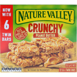 Photo of Nature Valley Crunchy Bar Peanut Butter 252g